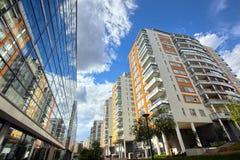 Apartamentos modernos Fotos de Stock Royalty Free