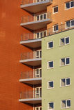 Apartamentos modernos imagem de stock royalty free