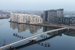 Apartamentos modernos Imagen de archivo libre de regalías