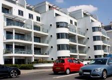Apartamentos modernos del estilo del art déco Foto de archivo