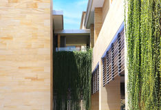 Apartamentos modernos dos apartamentos modernos Fotografia de Stock Royalty Free