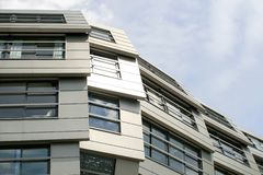 Apartamentos modernos em Almere imagens de stock royalty free