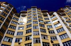 Apartamentos modernos novos Fotografia de Stock Royalty Free