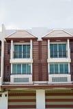 Apartamentos modernos novos Imagem de Stock Royalty Free