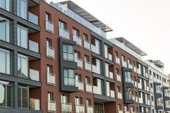 Apartamentos modernos novos Imagens de Stock Royalty Free