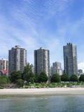 Apartamentos na água Fotografia de Stock