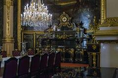 Apartamentos Napoleon III en el Louvre Fotos de archivo libres de regalías