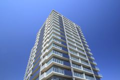 Apartamentos novos Fotos de Stock Royalty Free