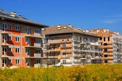 Apartamentos novos Fotografia de Stock Royalty Free