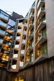 Apartamentos novos Imagens de Stock