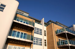 Apartamentos novos imagem de stock royalty free