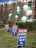 Apartamentos para el arriendo en Washington DC foto de archivo libre de regalías