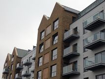Apartamentos/planos modernos Fotografía de archivo