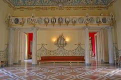 Apartamentos reales en museo di capodimonte imagenes de archivo
