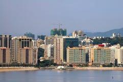 Apartamentos residenciales de Moderm, Macau Fotografía de archivo