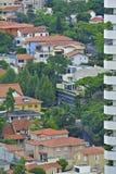 Apartamentos residenciales en São central Pablo Imagen de archivo