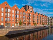 Apartamentos retros do estilo Fotografia de Stock Royalty Free