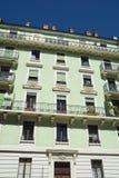 Apartamentos suíços Imagem de Stock Royalty Free