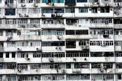 Apartamentos velhos Imagem de Stock