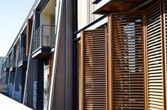 Apartamentos y detalles de vivienda modernos foto de archivo libre de regalías