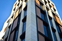 Apartamentos y detalles de vivienda modernos imagen de archivo