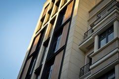 Apartamentos y detalles de vivienda modernos fotos de archivo