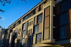 Apartamentos y detalles de vivienda modernos imagenes de archivo