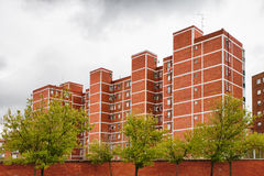 Apartaments Blocks. In a Spanish working class neighborhood Royalty Free Stock Photos