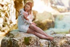 Apartes-Hochzeit Kleid Lizenzfreie Stockfotos