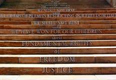 Apartheidsmuseum, Johannesburg, Zuid-Afrika Stock Afbeeldingen