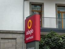 Aparthotel Adagio i Berlin royaltyfria bilder