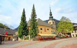 Apartma Kajzar in Kranjska Gora. Apartma Kajzar in Kranjska Gora w Sloveniji Royalty Free Stock Image