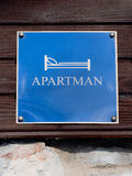 apartman ετικέτα Στοκ εικόνα με δικαίωμα ελεύθερης χρήσης