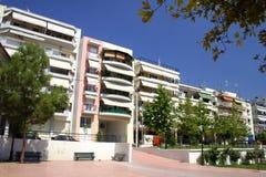 Apartmans em Greece imagem de stock