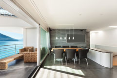Apartmen interiores, modernos Fotografía de archivo libre de regalías