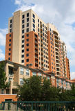 Apartment. Modern apartment building in the city,USA Royalty Free Stock Photos