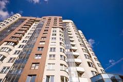 Apartment. Modern condo building apartment block Royalty Free Stock Photography