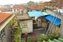 Apartment. House China xiamen Asia Royalty Free Stock Image