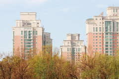 Apartment. Buildings in bejing,china Stock Photography
