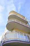 Apartment balconies Stock Images