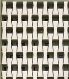 Apartment Balconies Pattern Stock Photo