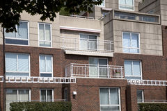 Apartment with balcony royalty free stock photography