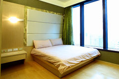 Apartment Bed Room. Bed room in apartment house Stock Image