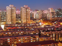 Apartment,Beijing skyline,China Stock Photo