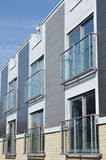 Apartment Block. Architectural Detail of an Apartment Block Stock Photo