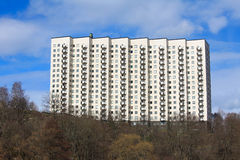 Apartment block. In Stockholm, Sweden Royalty Free Stock Photos