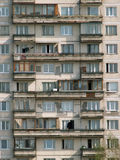 Apartment block. Typical soviet house-building produce in seventies 20 century. Saint-Petersburg. Russia Royalty Free Stock Photos
