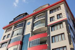 Apartment block Royalty Free Stock Photos