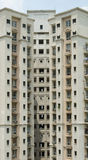 Apartment block. S in downtown Asia Stock Images