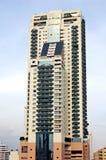 Apartment block. Bangkok apartment tower stock photo
